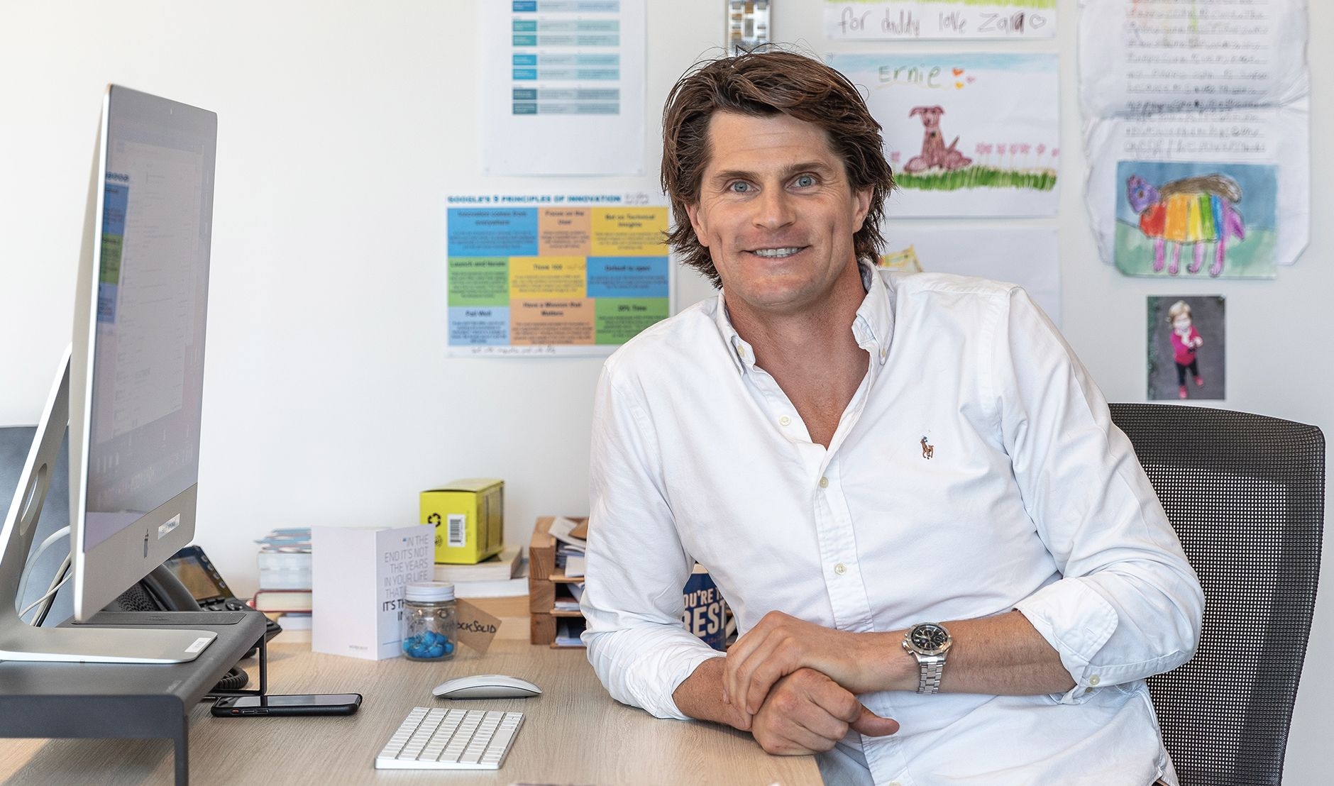 Dr Sam Hazledine - wellbeing for doctors