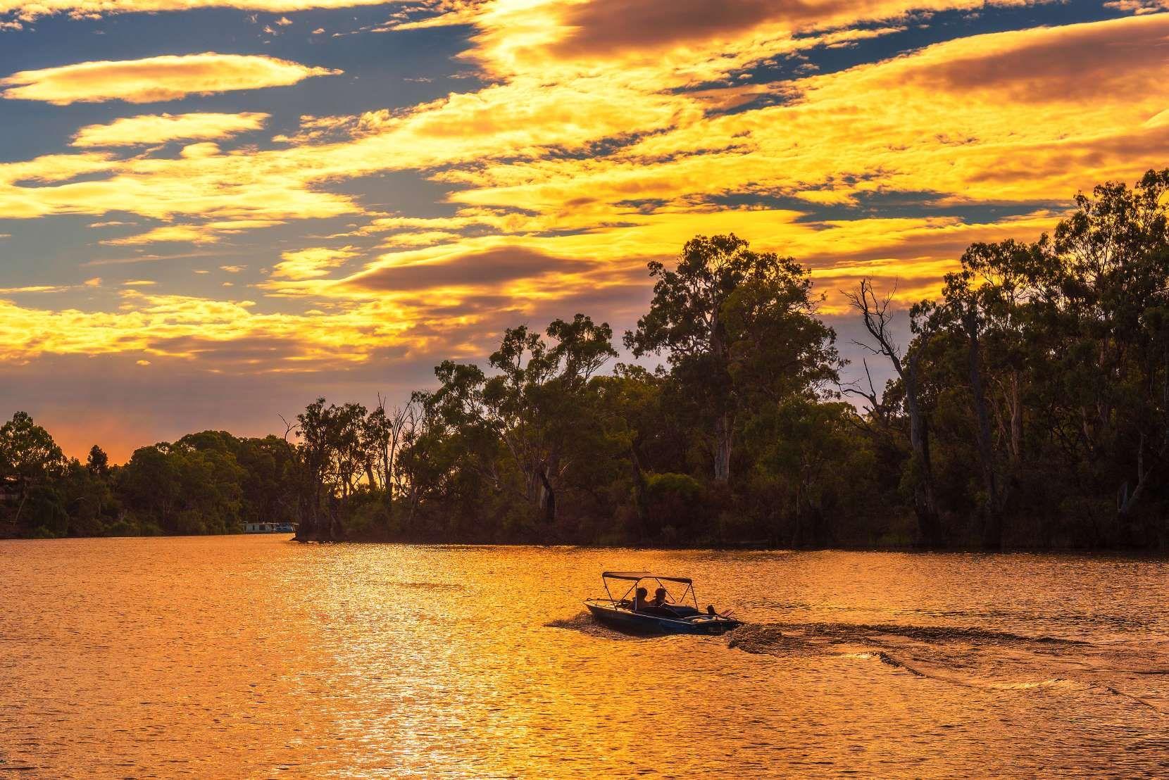 Murray River in Mildura, Victoria