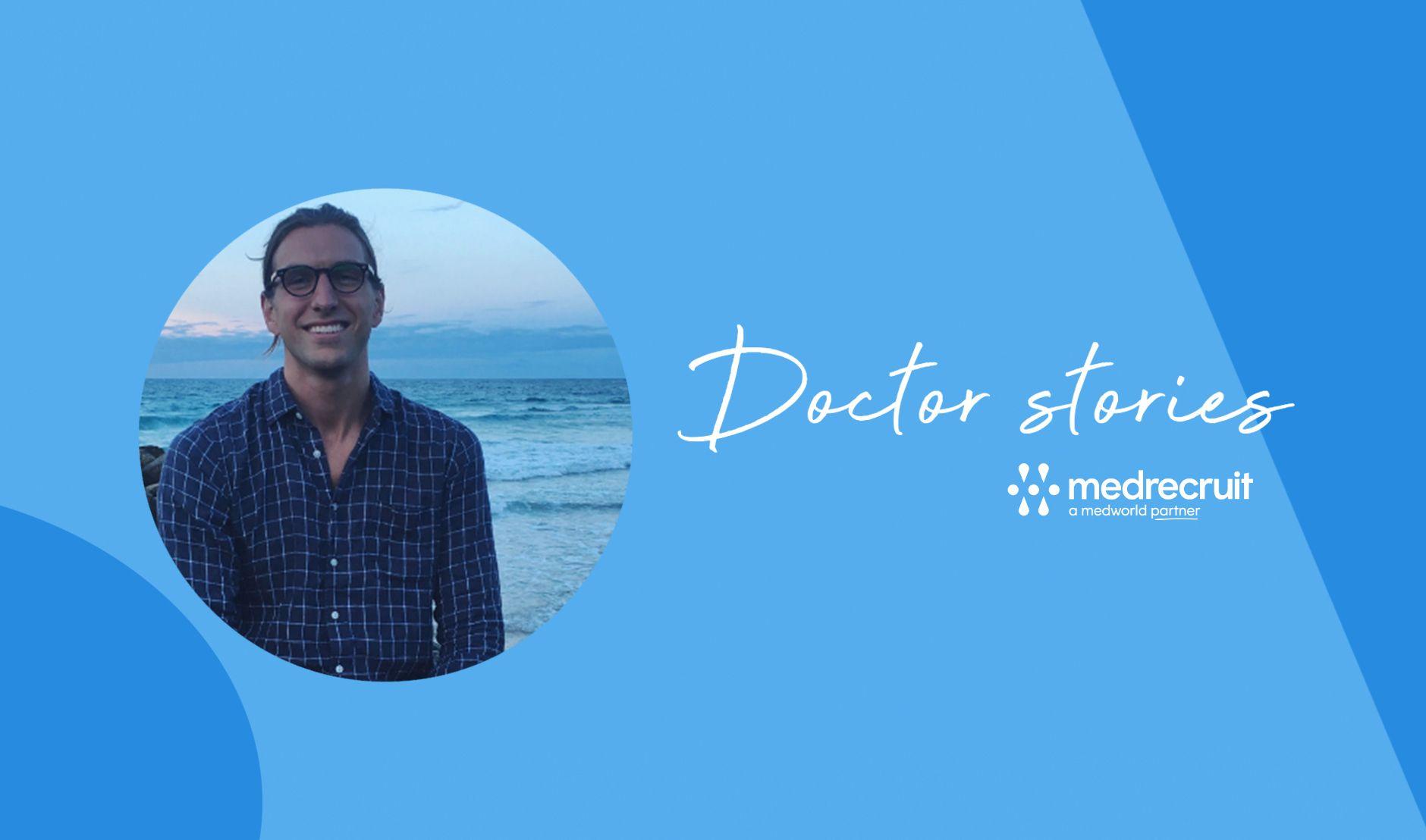 Rural locum - male doctor